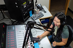 Photo for Central Valley Radio Station Stands In As A Cultural 'Town Hall' For Local Hm...