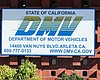 The California Department of Motor Vehicles off...