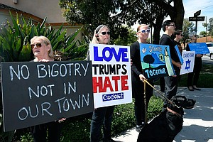 Over 400 Hate Crimes Reported In San Diego County Over Th...