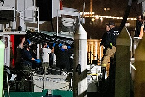 Photo for Officials: Fire Blocked Escape For 34 Divers Asleep On Boat