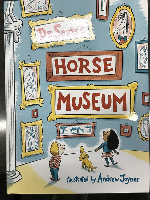 "The cover of Dr. Seuss' ""Horse Museum"" is pictured, Septe..."