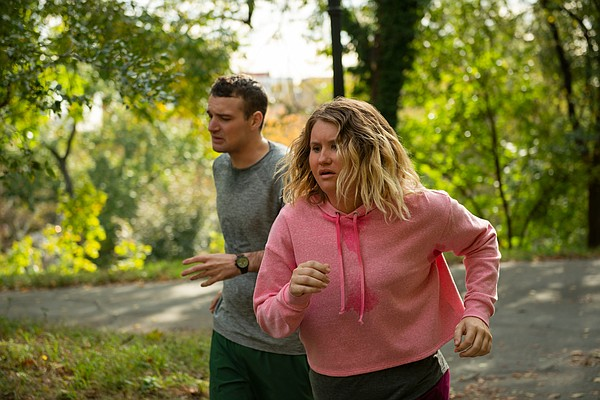 Jillian Bell plays a young woman who uses running to make...