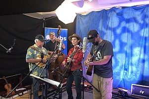 San Diego Bluegrass Band Prairie Sky Performs In The KPBS...