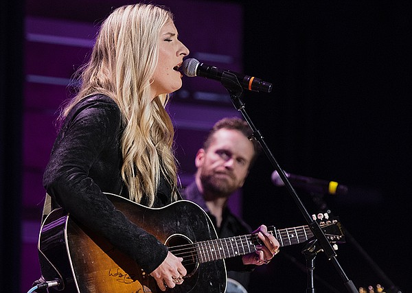 Holly Williams performs at