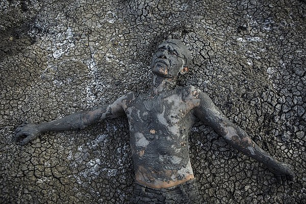 Mud man. An East Java village seeks reparations from the ...