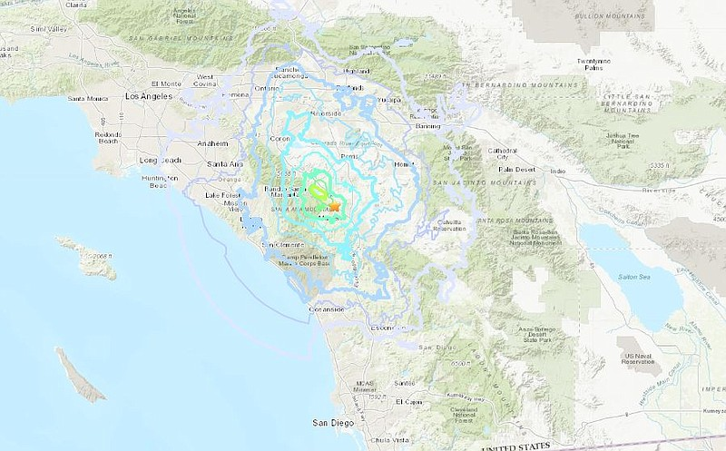 A 3.9-magnitude quake struck southwest Riverside County on Tuesday, Sept. 10,...