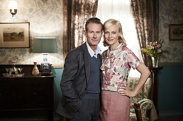George Bligh played by Brett Climo and Marta Dusseldorp a...