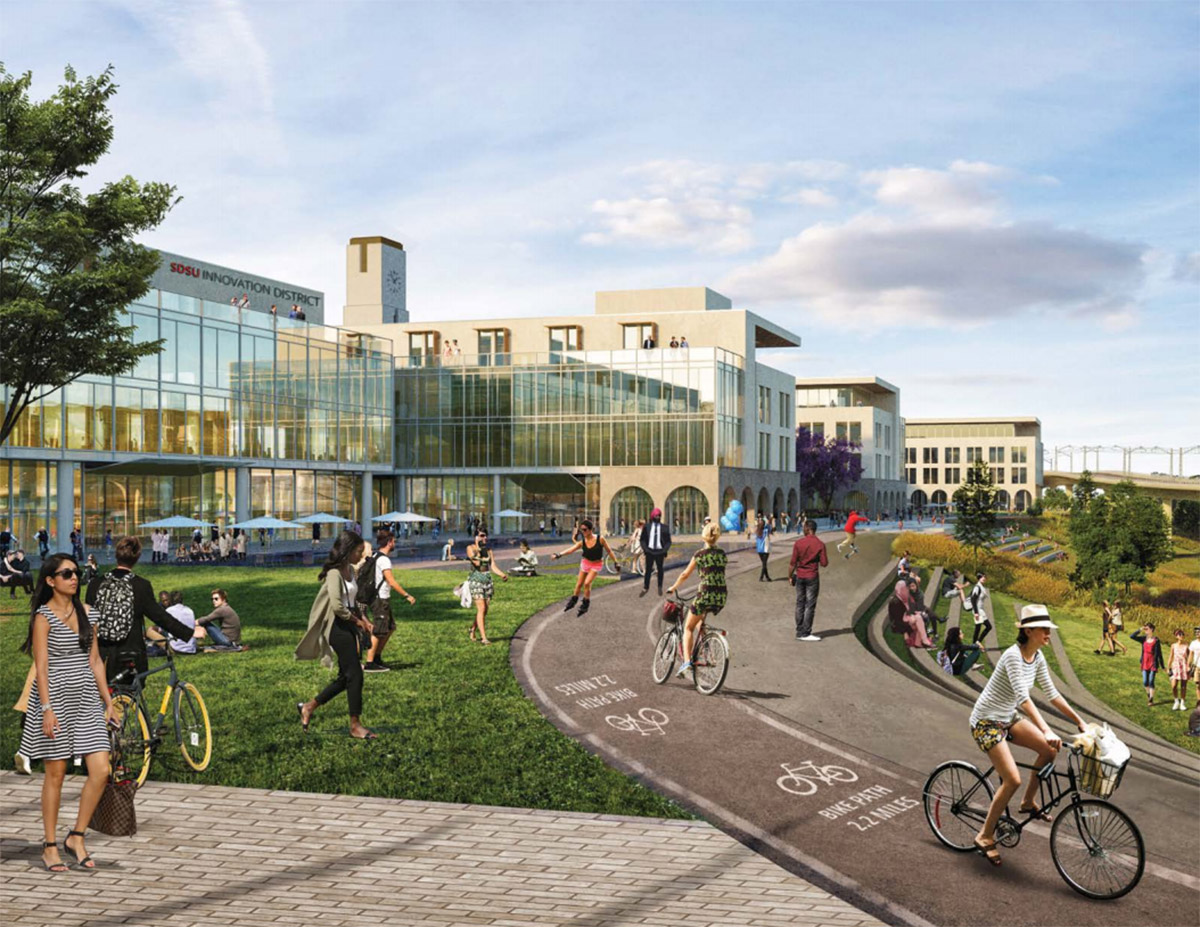 SDSU Gets Feedback On Mission Valley Campus Expansion