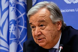 Photo for UN Secretary General Urges Public Pressure To Address The Climate 'Emergency'