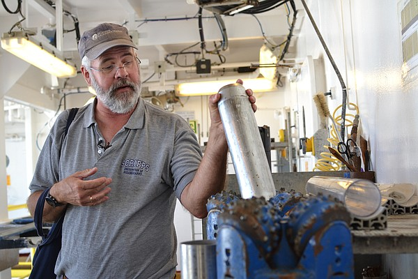 Scripps Institution of Oceanography researcher Richard No...