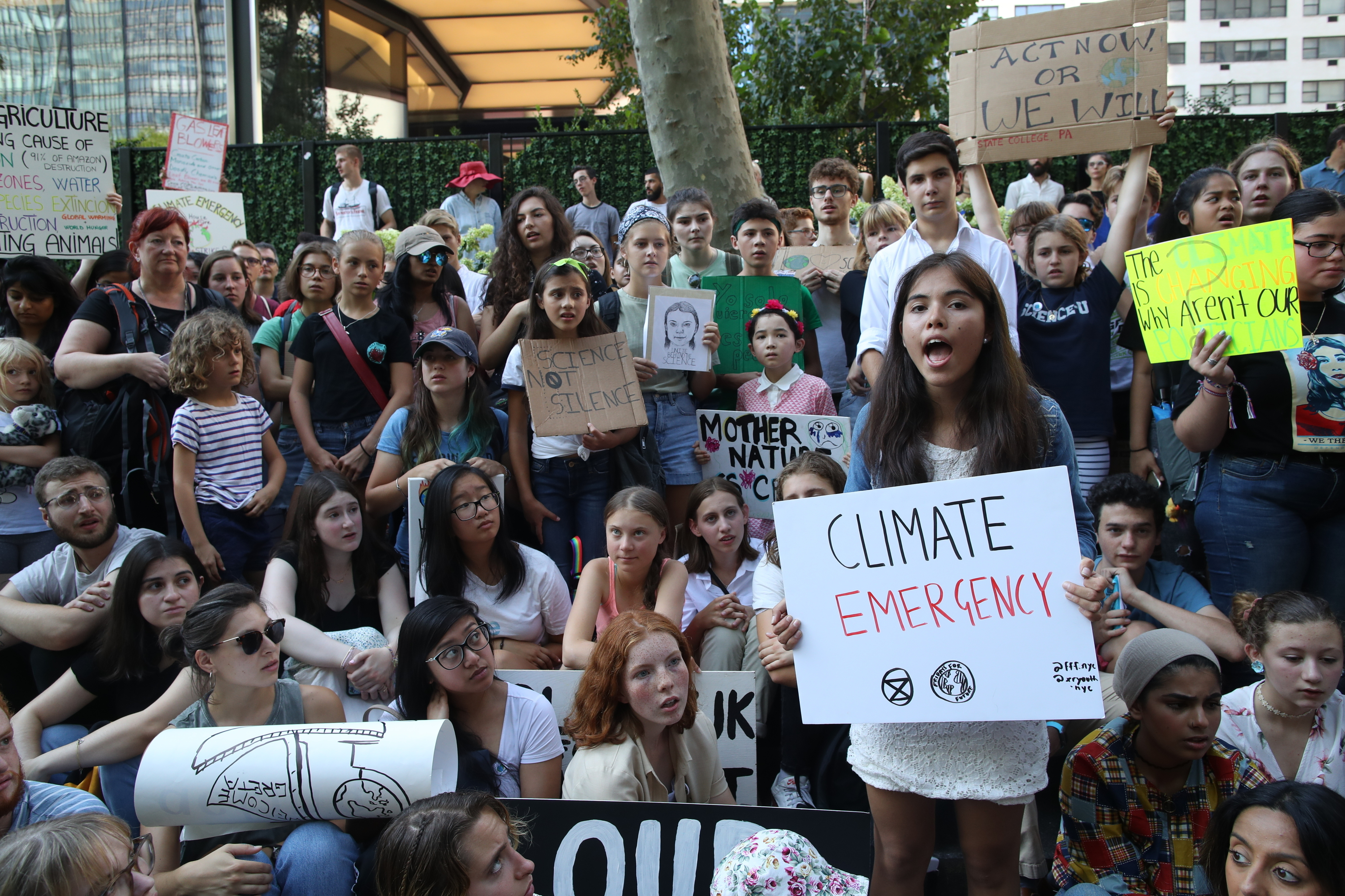 San Diego County Students, Teachers Join In Global Climate Strike