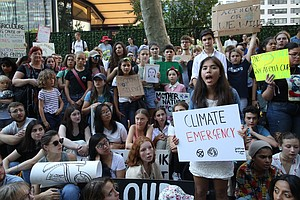 San Diego County Students, Teachers Join In Global Climat...