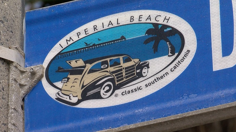 Imperial Beach's city logo, Sept. 23, 2019.