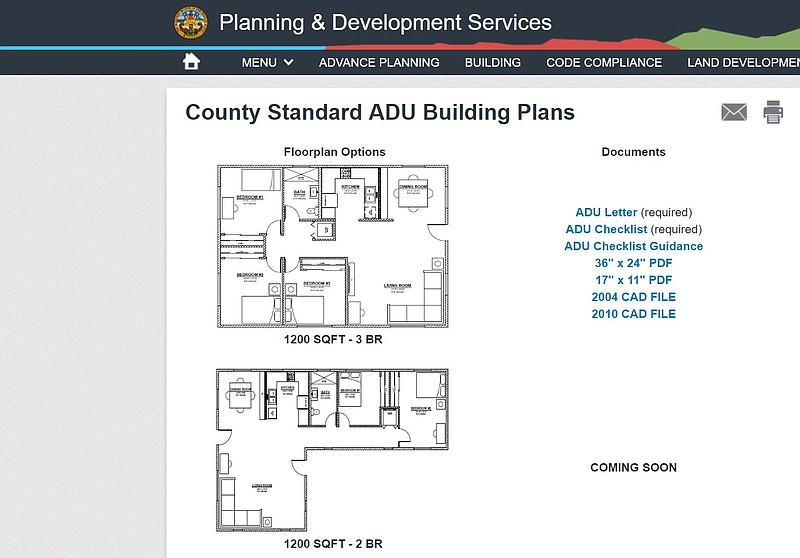 Housing Plans For Granny Flats