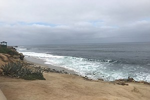 Deep Marine Layer, Cool Conditions In San Diego County