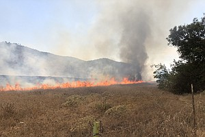 Photo for Evacuations, Road Closure Lifted For Lakeside Wildfire
