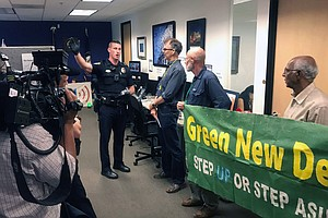 Photo for San Diego Activist Argues Why Green New Deal Matters