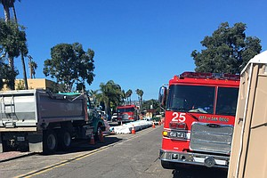 Photo for Mission Beach Natural Gas Leak Forces Evacuations