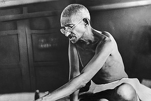 Gandhi Is Deeply Revered, But His Attitudes On Race And S...