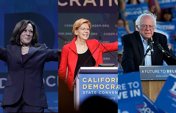 New California Poll Shows 3 Democrats In Dead Heat In Presidential Primary