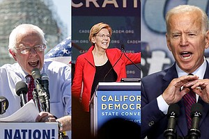 Photo for New California Poll Shows 3 Democrats In Dead Heat In Presidential Primary
