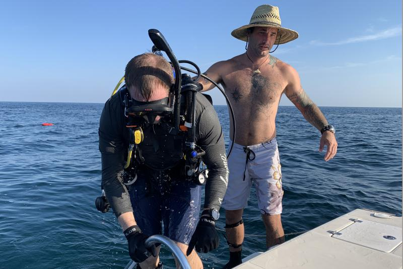 For Some Veterans, Underwater Adventures Bring Solitude And Therapeutic Benefits