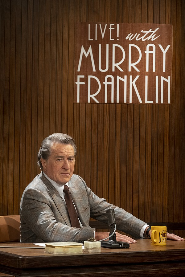 Robert DeNiro plays comedian and talk show host Murray Fr...