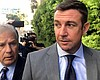 Rep. Duncan Hunter, R-Alpine, heading into cour...