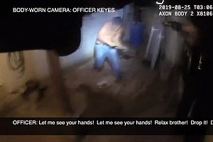 Photo for Police Video Shows One Officer Fatally Shooting El Cerrito Man While Partner ...
