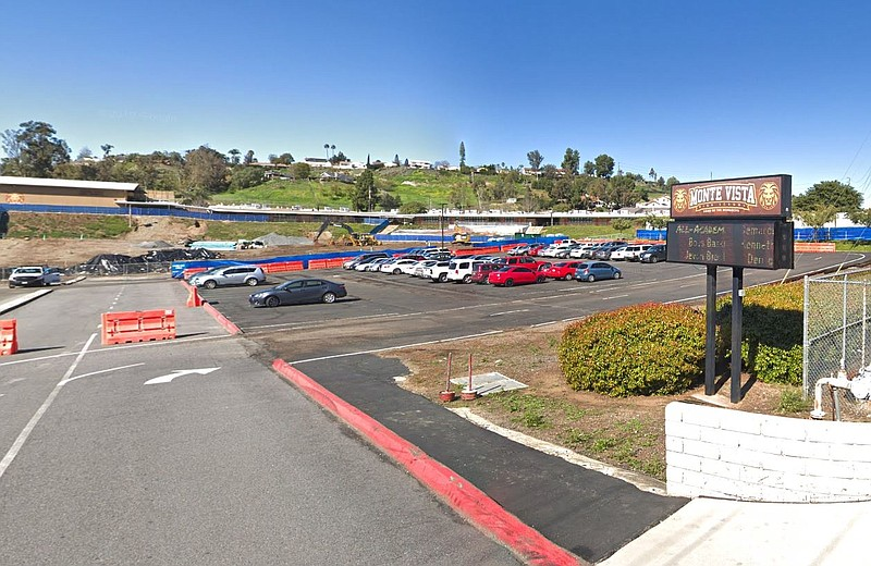 Monte Vista High School in this undated photo.