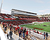 An artist's rendering shows a new stadium for t...