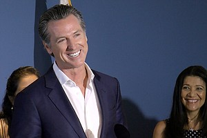 Newsom Visits San Diego And Takes Aim At California's Hou...