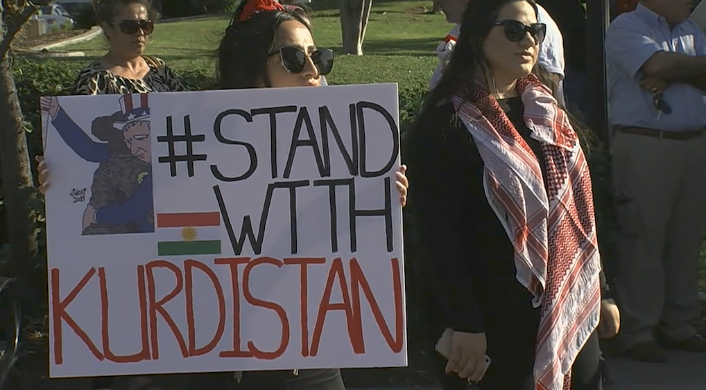San Diego Kurdish Community Expresses Anger Over Turkish Attacks In Syria
