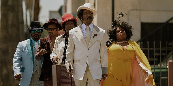 Eddie Murphy plays Rudy Ray Moore in the Netflix movie