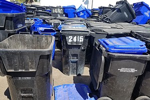 Photo for Why Are There So Many Broken Trash Bins In San Diego?