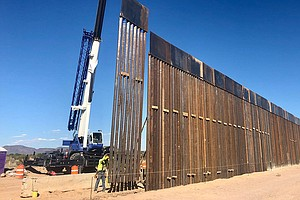 Border Wall Rising In Arizona, Raises Concerns Among Conservationists, Native...