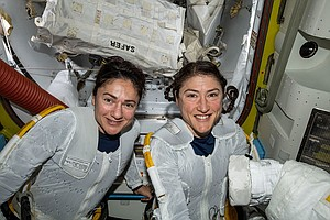 Photo for UCSD Alumna Jessica Meir Calls All-Female Spacewalk Experience 'Overwhelming'
