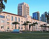 The San Diego County Administration building is...