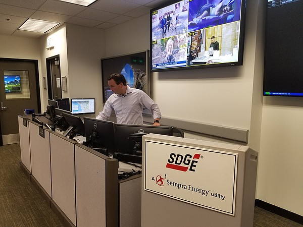 Brian D'Agostino, SDG&E's Director of Fire Science and Cl...