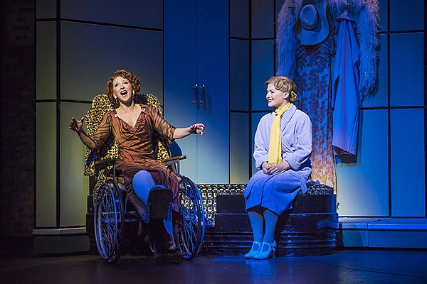 Bonnie Langford and Clare Halse in