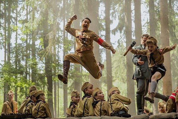Jojo (Roman Griffin Davis) is a youth in Hitler's army an...