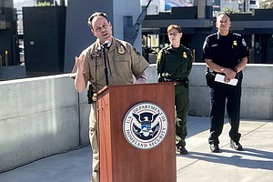 Photo for Detentions At San Diego Border On the Rise