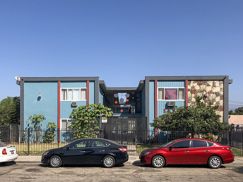 Photo of an apartment building in Pomona that leases units through Housing fo...