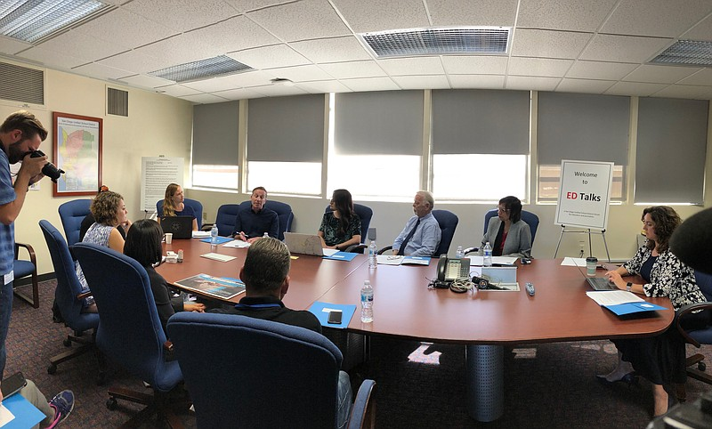 San Diego educators and experts meet to discuss how schools can address the r...