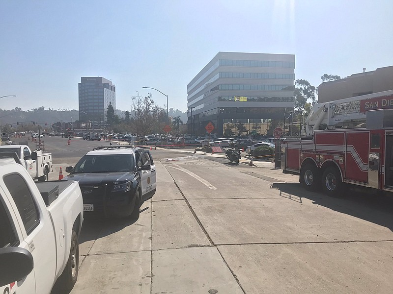 Mission Valley Gas Leak Halted, Roads Reopened | KPBS