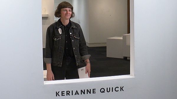 Kerianne Quick, the artist-in-residence at the New Americ...