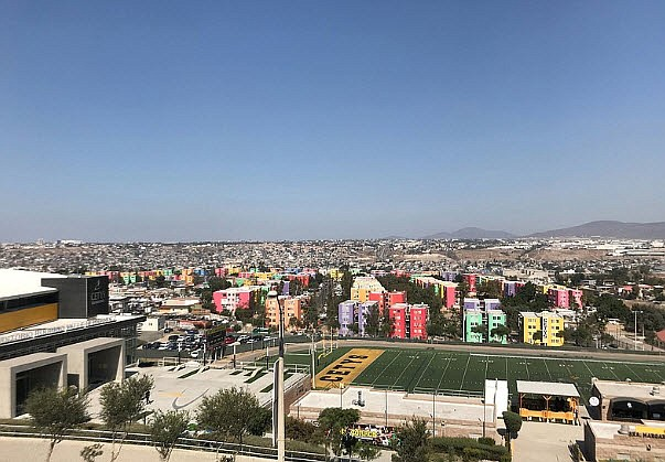 The campus of CETYS in Tijuana on October 14, 2019