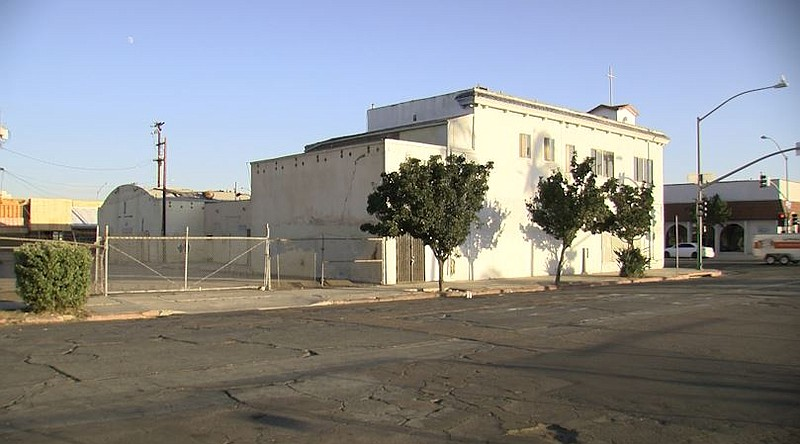 A vacant building nicknamed the