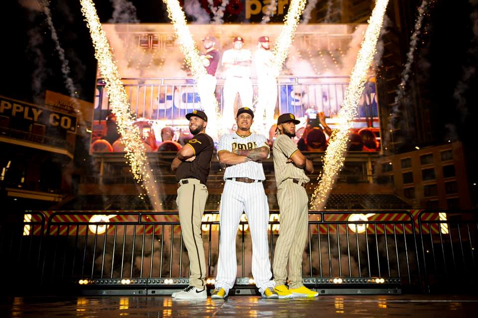 Padres Unveil New Brown And Gold Color Scheme