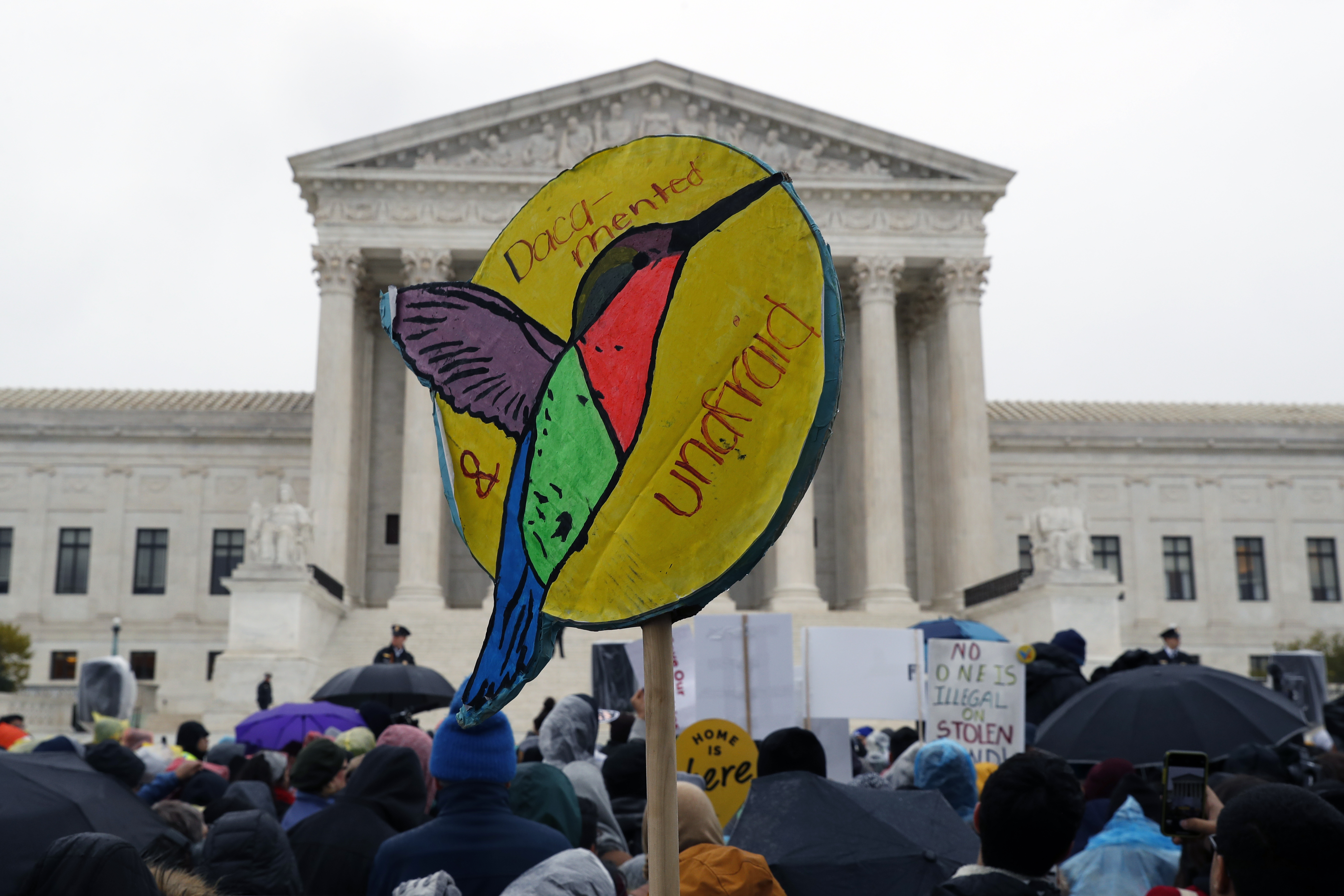 DACA Protections For 660,000 Immigrants On The Line At Supreme Court